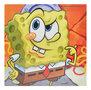 Spongebob canvas schilderij 25x25cm