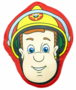 Brandweerman Sam shape kussen
