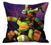 Teenage Mutant Ninja Turtles kussen Attack Paars