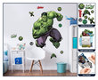 The Avengers XL wanddecoratie Hulk muursticker set