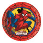 Spiderman party bordjes Comic