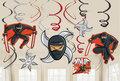 Ninja plafond decoratie slingers